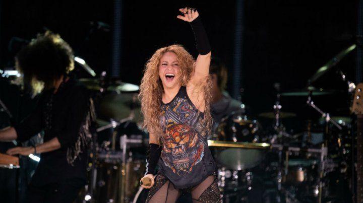 Shakiramanía. La cantante llegará en el marco del Dorado World Tour.