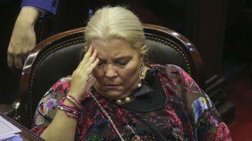 ¿Se va de Cambiemos? Elisa Carrió lució recargada esta semana, pero sus cañones también le apuntaron al ministro de Justicia.