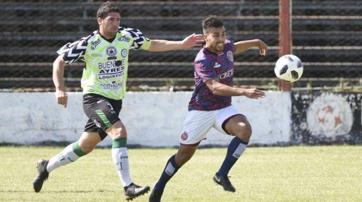 Tedesco anotó el definitivo 2-0 para que el charrúa volviera a sonreír. Fue su primera conquista en Tablada.