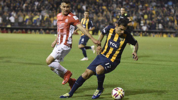 Chaqueño en cancha. Germán Herrera será otra vez titular en la delantera