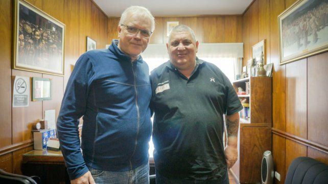 Luz y Fuerza donó alimentos a un comedor de barrio 7 de Septiermbre
