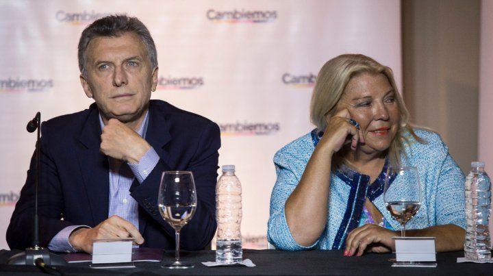 Malestar. Carrió subió la apuesta con sus críticas al gobierno y apuntó directamente al presidente.