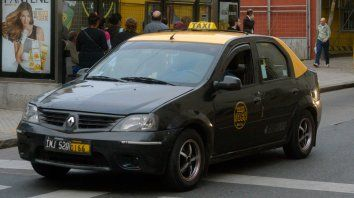 Reclamo. Los taxistas se quejan por la suba de sus costos y las necesidades que atraviesan.