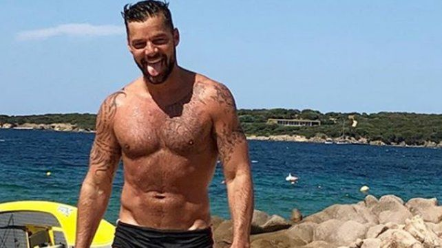 Ricky Martin derritió en las redes con una foto para el infarto