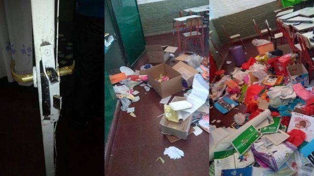 Por tercera vez en el año, la Escuela Gabriela Mistral fue blanco de un ataque vandálico