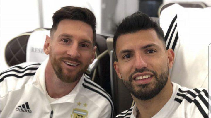 Agüero dejo afuera a Messi de sus favoritos para el Balón de Oro