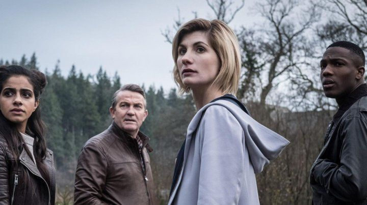 La doctora. Jodie Whittaker se pone en la piel de Doctor Who.