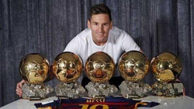 Quiere más. Lionel Messi ya ganó cinco y en diciembre va por otro Balón de Oro.