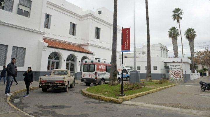 Los heridos ingresaron por sus propios medios al Hospital Roque Sáenz Peña.