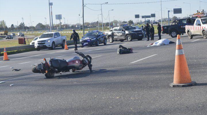 En 2019, en Circunvalación ya murieron cinco motociclistas