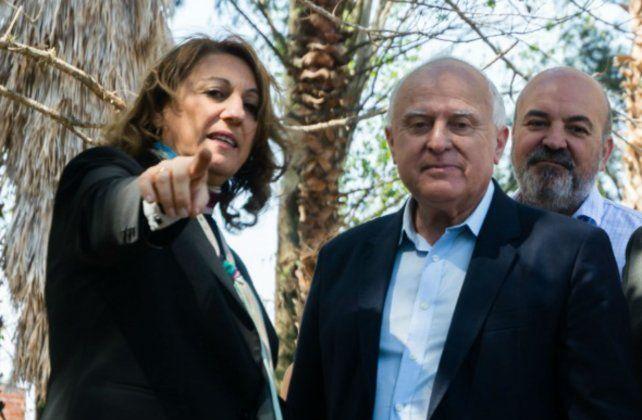 La intendenta Mónica Fein sumó su voz a las críticas del gobernador Miguel Lifschitz al intendente de Santa Fe José Corral.