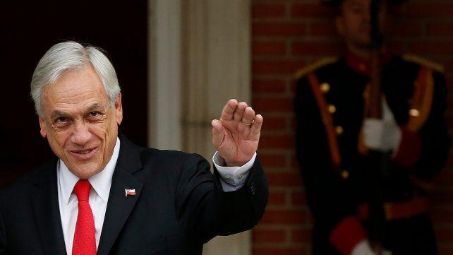 Piñera dio su apoyo al ex militar