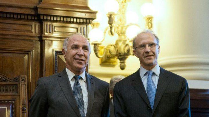 Lorenzetti apuntó contra el actual presidente de la Corte
