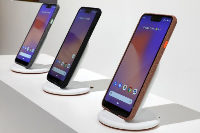 Google presentó tres smartphons Pixel en Nueva York.