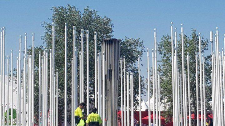 Investigan por qué se apagó la antorcha olímpica en Buenos Aires