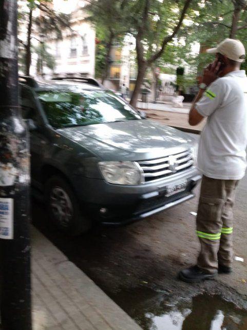 Denuncian al diputado Contigiani por ocupar un estacionamiento para discapacitado
