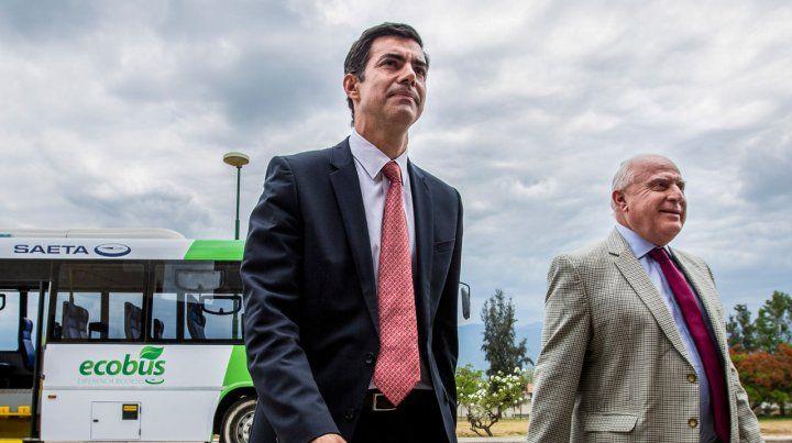 Dúo. Urtubey y Lifschitz firmaron un acuerdo sobre energías renovables.