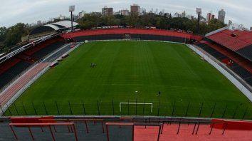 Coloso. El estadio se encuentra en condiciones, dijeron desde el Parque. Igualmente, la chance de que se concrete es remota.