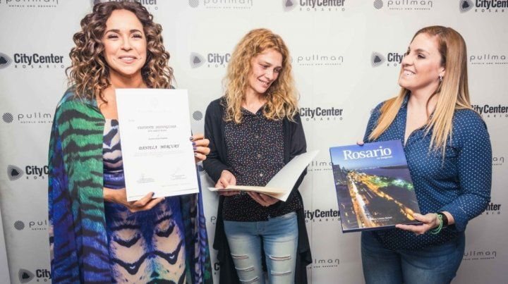 Daniela Mercury fue declarada Visitante Distinguida de Rosario