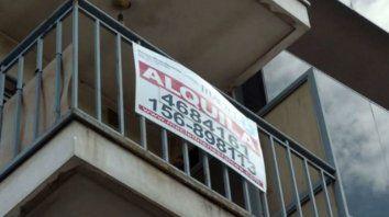 Las inmobiliarias advierten mora en el pago de los alquileres.