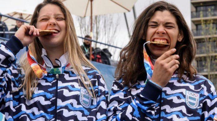 Argentina sumó más medallas doradas en los Juegos Olímpicos de la Juventud