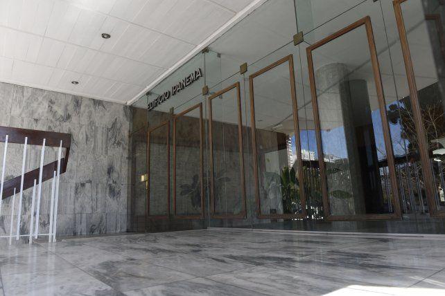El frente del edificio Ipanema