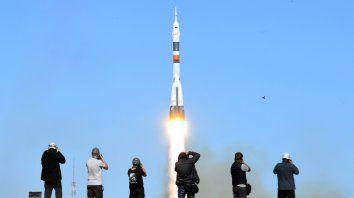 Ida y vuelta. La partida normal del cohete.