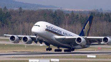 Singapur-Nueva York, el vuelo más largo del mundo
