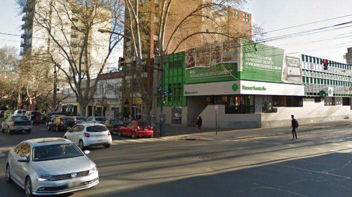 La Sucursal San Martín del Nuevo Banco de Santa Fe hizo la denuncia.