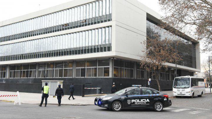 La audiencia se realizó en la Unidad de Delitos Complejos que funciona en el Centro de Justicia Penal.