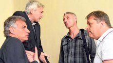García, Carloni, DAmico y Concina, y en la reunión por el clásico.
