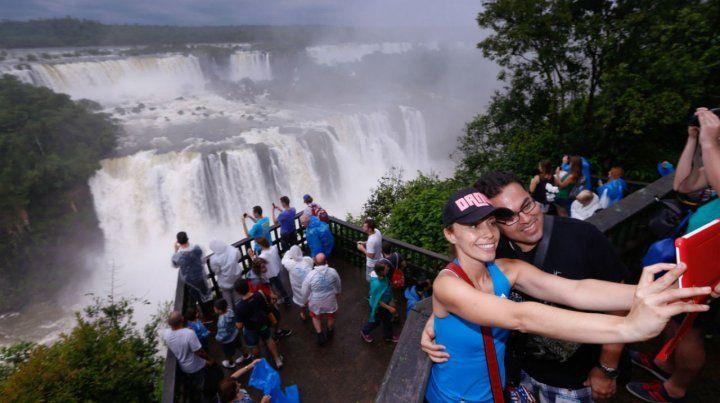 Visita. Las cataratas del Iguazú