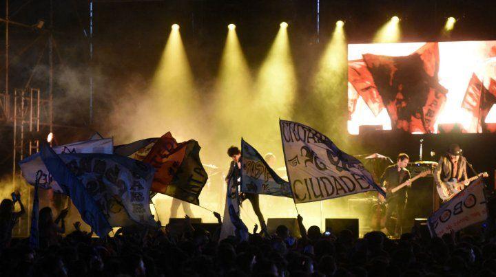 La banda Guasones fue ovacionada. El público destacó la buena organización del acontecimiento.