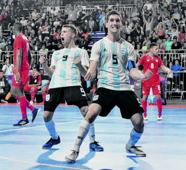 El futsal argentino jugará la semifinal contra Brasil