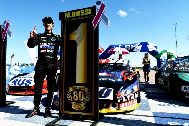 Desde el viernes. Rossi se quedó con la pole