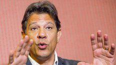Gesto. Fernando Haddad dijo que con el ex presidente Cardoso hay una puerta que necesita ser abierta.