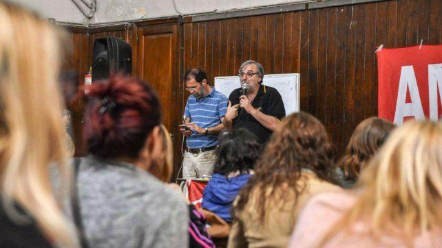 Amsafé Rosario convoca para esta semana una movilización con desobligación de alumnos