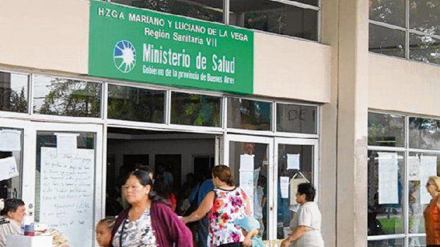 Moreno. La pareja sufrió la extraña historia en el Hospital de la Vega.