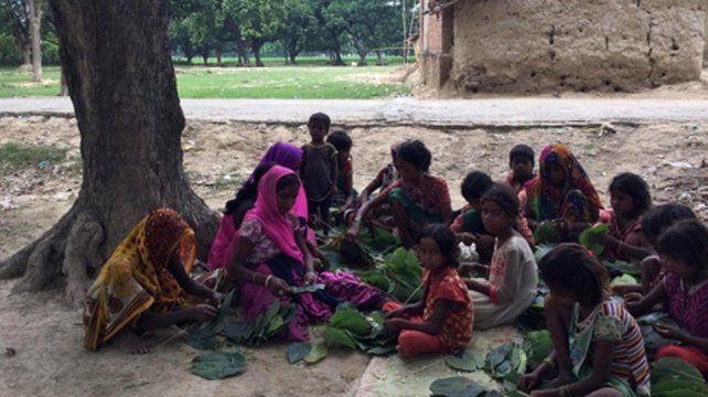Infancia a la venta. Tráfico de niños y niñas en India.