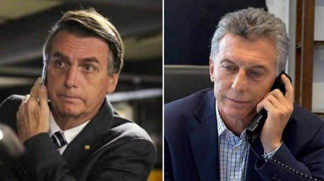 Según informó el gobierno se trató de una  cordial  conversación en el marco del actual proceso electoral de Brasil y  la  relación estratégica entre ambos países.