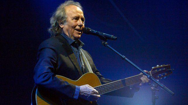 Joan Manuel Serrat le rindió homenaje al mar que lo vio nacer y le enseñó canciones