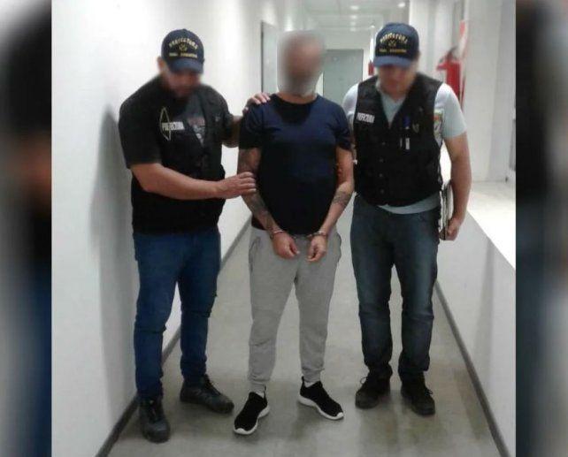 El estafador fue detenido por la Prefectura Argentina.
