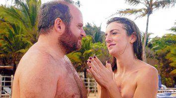En el paraíso. Alan Sabbagh y Julieta Zylberberg son una pareja que viaja a Brasil en medio de fricciones y replanteos.