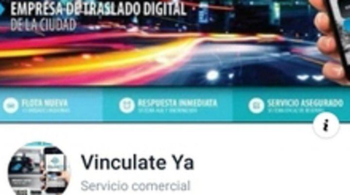 Aplicación. La empresa de traslado digital