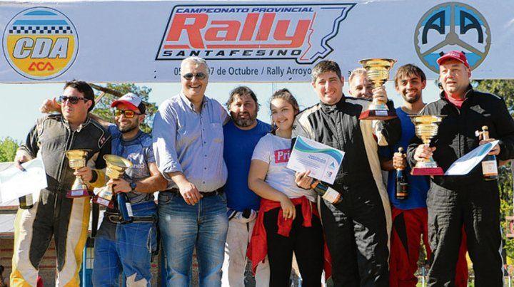 Festival. El Rally estuvo acompañado de múltiples actividades.