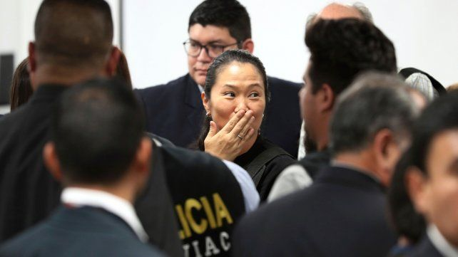 La Justicia peruana ordenó la inmediata liberación de Keiko Fujimori