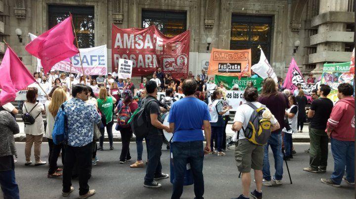 Amsafé Rosario reclamó retomar la discusión salarial y cargó contra las políticas de ajuste de Nación