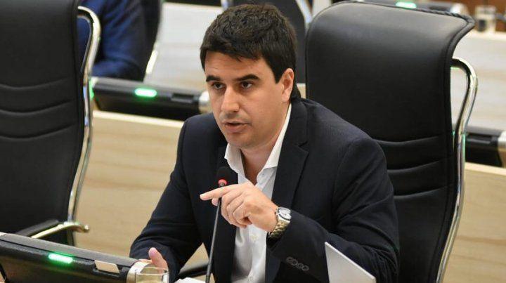 El edil peronista Eduardo Toniolli