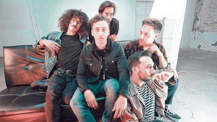 En pleno ascenso. El grupo viene de participar del programa Rock del País, televisado por el canal TN.