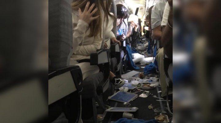 Una turbulencia severa dejó quince heridos en un vuelo de Aerolíneas